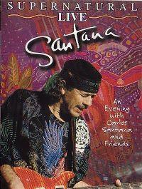 Cover Santana - Supernatural Live [DVD]